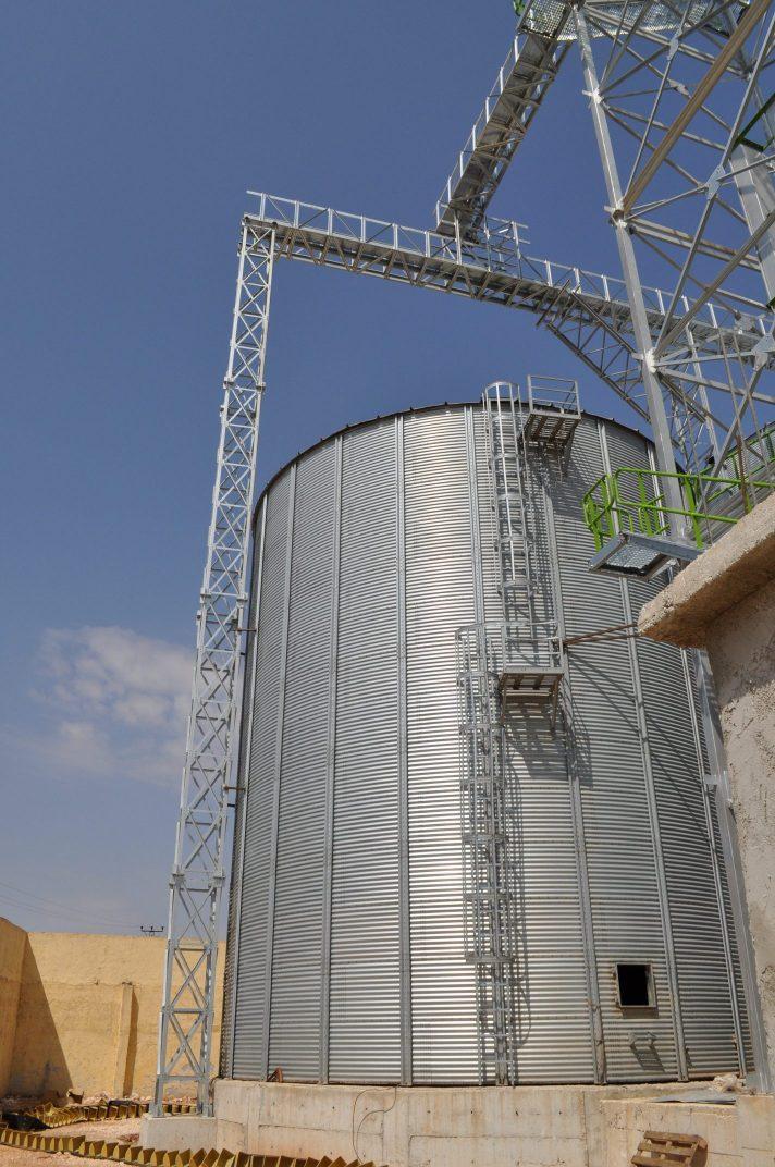 Steel Construction – Ekin Silo